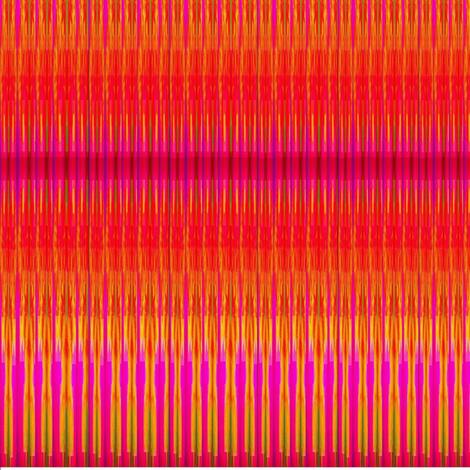 orange strip fabric by dk_designs on Spoonflower - custom fabric