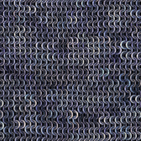 Chainmail - Silver / Steel fabric by bonnie_phantasm on Spoonflower - custom fabric