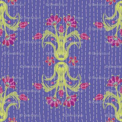 Kantha Bouquet 6