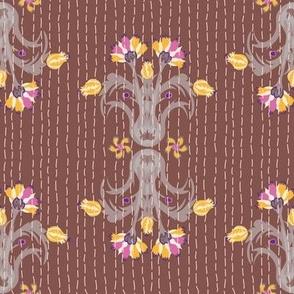 Kantha Bouquet 3