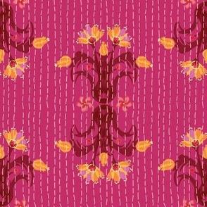 Kantha Bouquet 5