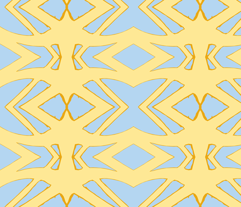 Salute the Sun fabric by susaninparis on Spoonflower - custom fabric