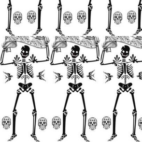 Day of the Dead - Dancing Skeleton