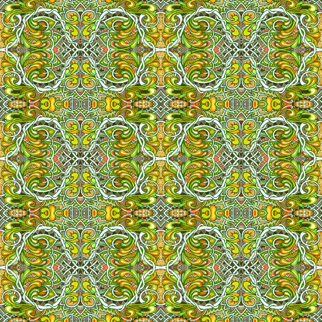 Where the Parrots Play fabric by edsel2084 on Spoonflower - custom fabric