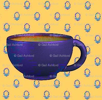 happy espress cup