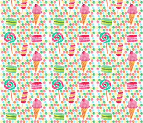 Sweet Treat fabric by icarpediem on Spoonflower - custom fabric