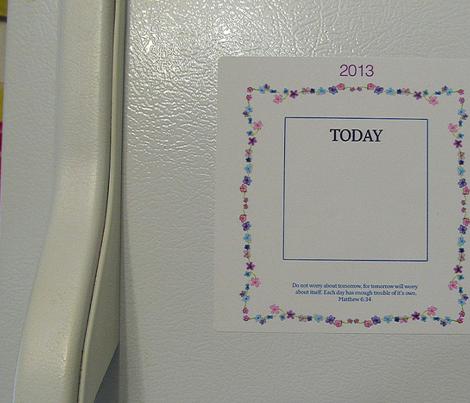 Don't Worry 2013 Calendar