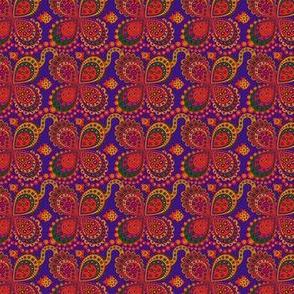 Fleur en peinture