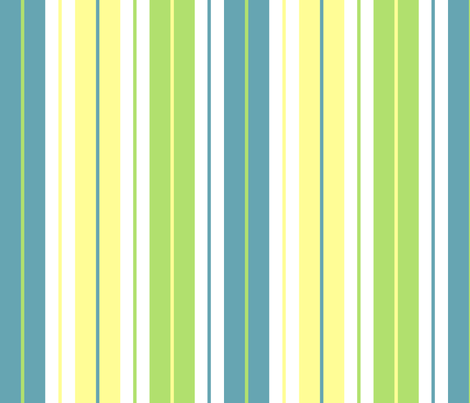Sunny Curtain Stripe fabric by graycatbird on Spoonflower - custom fabric