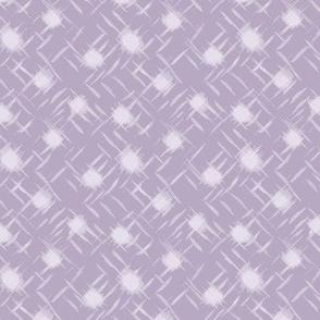 wind blown dot dusty lavender