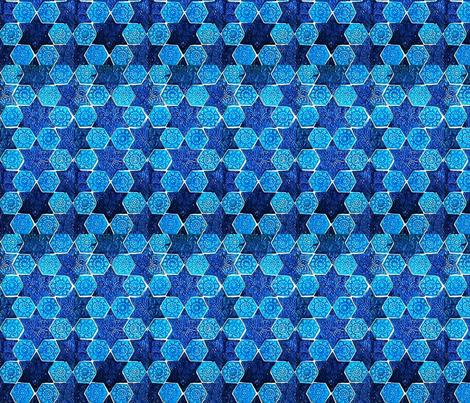 Star of David fabric by flyingfish on Spoonflower - custom fabric