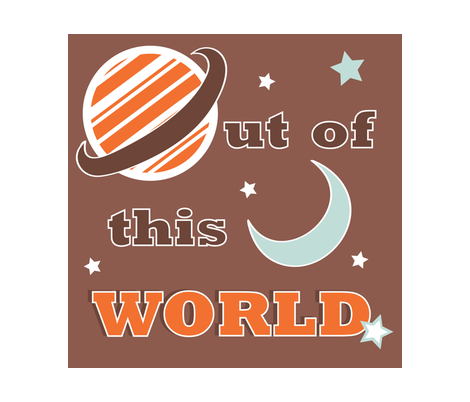 Out Of This World fabric by jenniferfranklin on Spoonflower - custom fabric