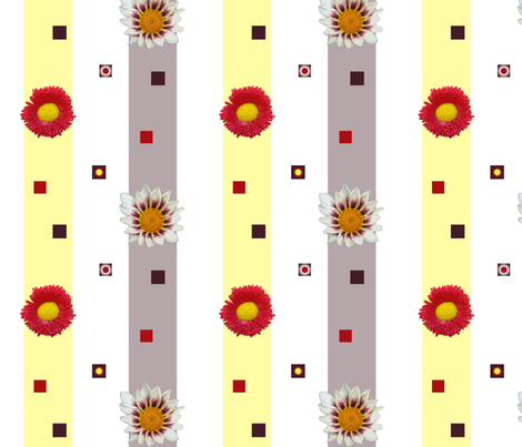 assorted_daisies fabric by bosun on Spoonflower - custom fabric