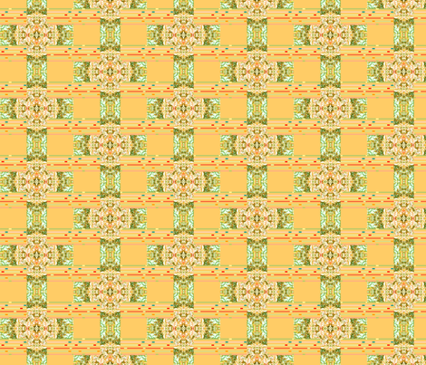 banksia_cross fabric by bosun on Spoonflower - custom fabric