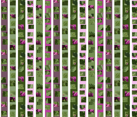 beautyberry stripes fabric by bosun on Spoonflower - custom fabric