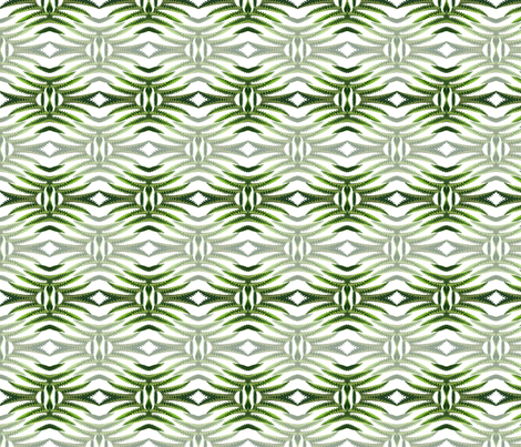 serrated_leaves fabric by bosun on Spoonflower - custom fabric