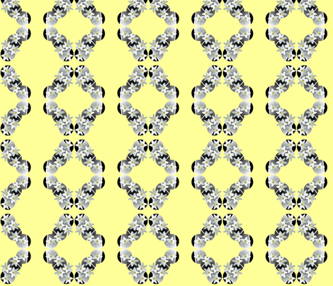 white_flowers fabric by bosun on Spoonflower - custom fabric