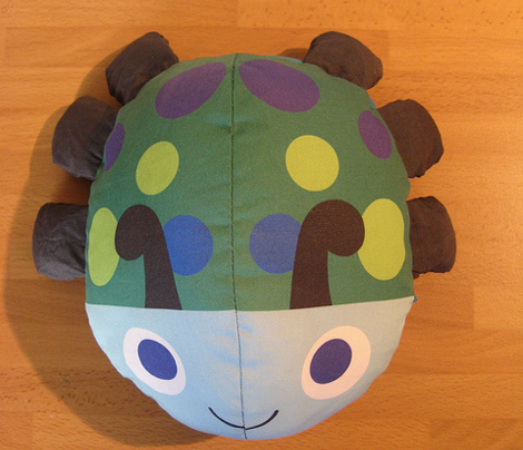Blue Bed Bug - Transforming Toy