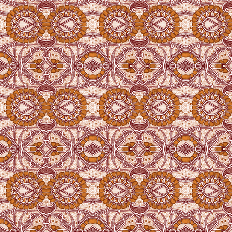 Time to Harvest the Caramel Crop fabric by edsel2084 on Spoonflower - custom fabric