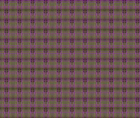 Heather in Bloom fabric by walkwithmagistudio on Spoonflower - custom fabric