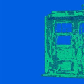 TARDIS Blue ORIGINAL