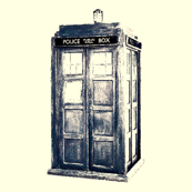 TARDIS Blue  Enhanced