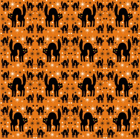 Rretro_style_black_cat_in_starburst_with_orange_background___white_stars_16x_shop_preview