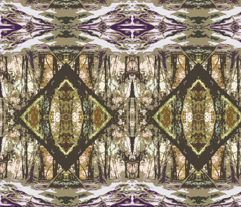 Cambodian Rainforest fabric by anniethomasharrison on Spoonflower - custom fabric