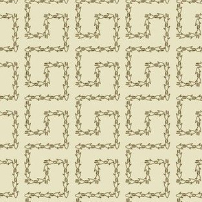 Armadillo Greek Key - Ivory