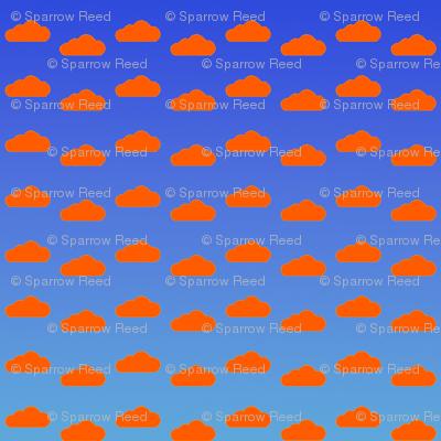 Orange Cream Clouds