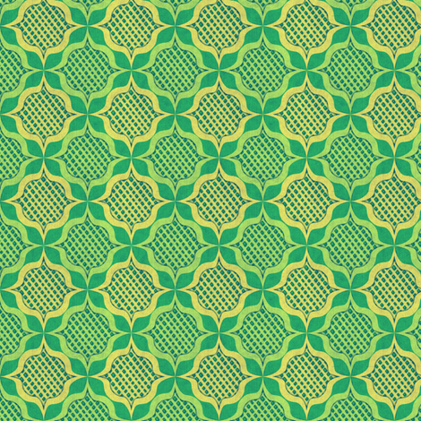 trellis_medallions_2 fabric by glimmericks on Spoonflower - custom fabric