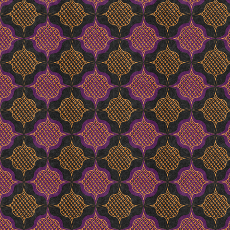 trellis_medallions_6 fabric by glimmericks on Spoonflower - custom fabric