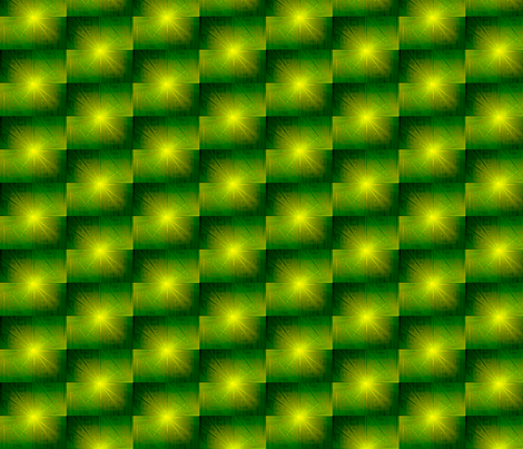 Green and Yellow Nova fabric by pd_frasure on Spoonflower - custom fabric