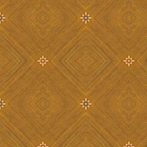End grain  with flower