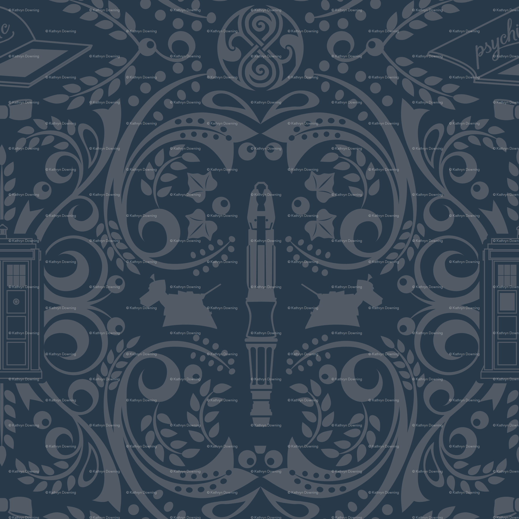 tardis fabric, wallpaper, gift wrap, and decals - Spoonflower