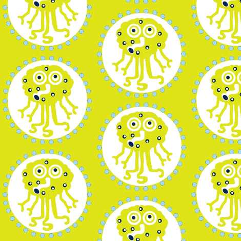Squidike fabric by paragonstudios on Spoonflower - custom fabric