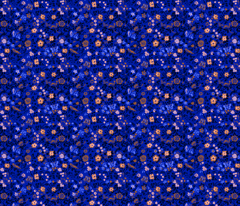 Mini Flowers 3 fabric by polina_vaschenko on Spoonflower - custom fabric