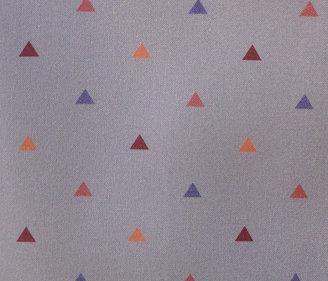 Small Pyramids / Lavender grey