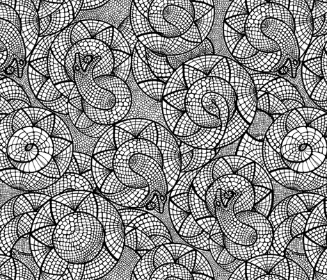 Snake fabric by polina_vaschenko on Spoonflower - custom fabric