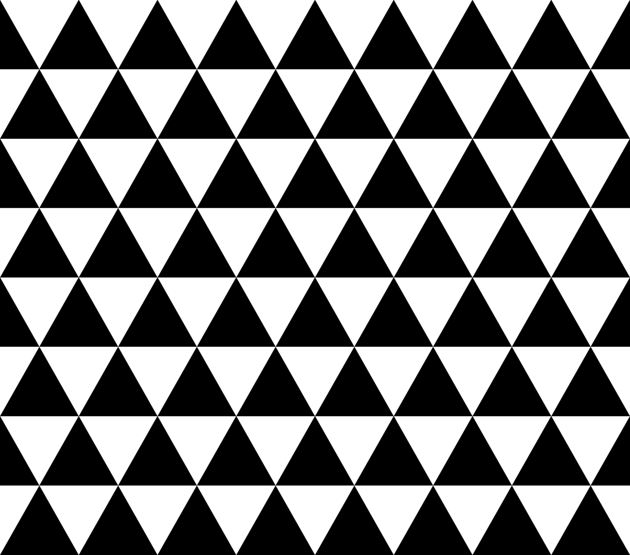 Triangle Patterns Black And White