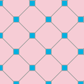 floor tiles - pink blue