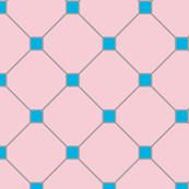 floor tiles - pink blue