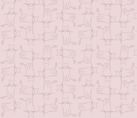 kitties fabric by tate_bm on Spoonflower - custom fabric