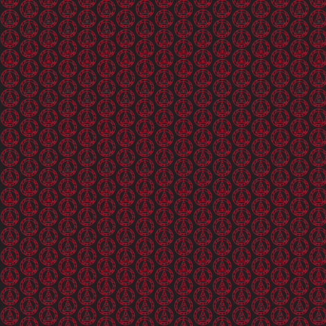 metatronblack fabric by thetatterpunk on Spoonflower - custom fabric