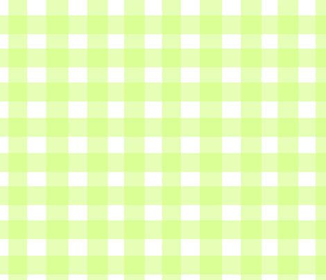 gighamchartreuse fabric by ragan on Spoonflower - custom fabric
