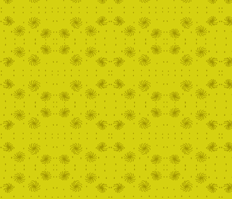 olive chartreuse spritz circles fabric by dnbmama on Spoonflower - custom fabric