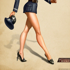 Battlestation_Midway_pin_up_1_by_henning-ed
