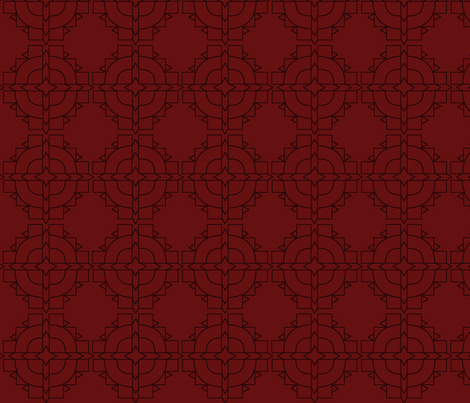Earthen Lines fabric by olumna on Spoonflower - custom fabric