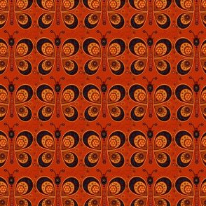 Papillons de feu
