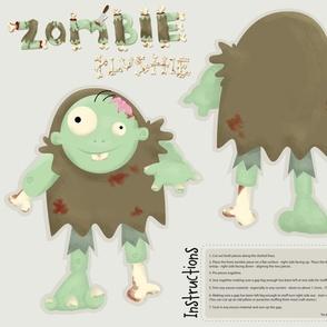 Zombie Plushie